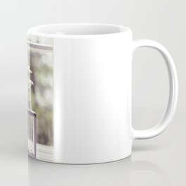 Windowsill Flowers Coffee Mug