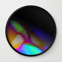 mortal instruments Wall Clocks featuring Trans-Mortal by tscreative