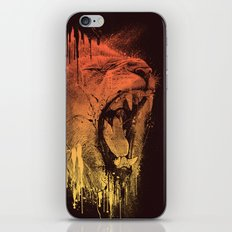 FIERCE LION iPhone & iPod Skin