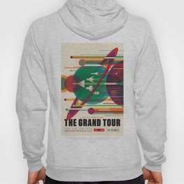 NASA Visions of the Future - The Grand Tour, a Once in a Lifetime Getaway Hoody