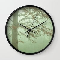illusion Wall Clocks featuring Illusion by Olivia Joy StClaire