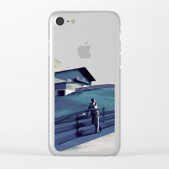 Waiting for you Clear iPhone Case