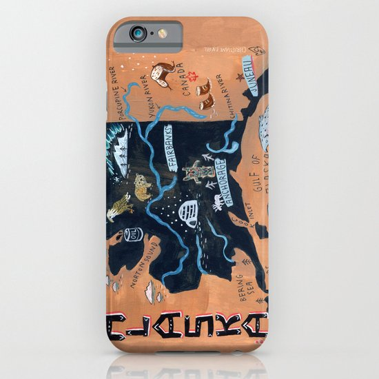 ALASKA iPhone & iPod Case