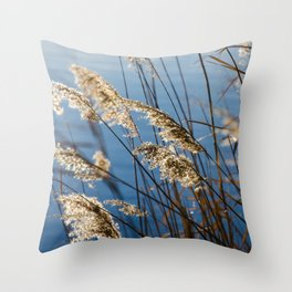 Camargue nature Throw Pillow