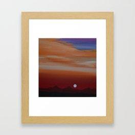 ChiChi Land Mark  Framed Art Print