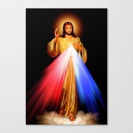 Jesus Divine Mercy I trust in you Religion Religious Catholic Christmas Gift Canvas Print