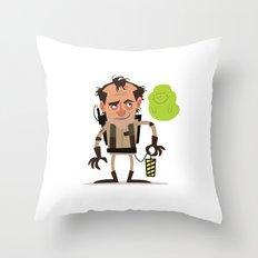 Venkman Throw Pillow