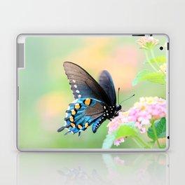Spicebush Swallowtail Butterfly on Lantana Laptop & iPad Skin