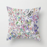 tote bag Throw Pillows featuring tote bag by ColinDKeefePhotography