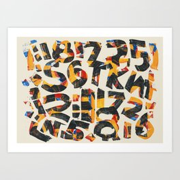 Pattern Number 24 Art Print