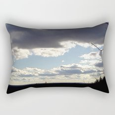 View From Up Here Rectangular Pillow
