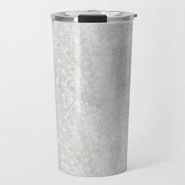 White Apophyllite Close-Up Crystal Travel Mug