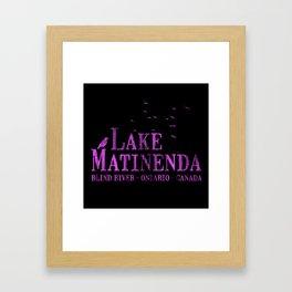 Matinenda Framed Art Print