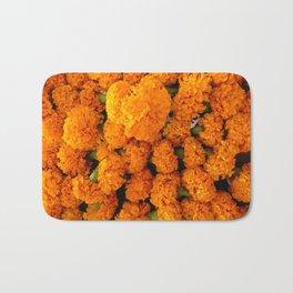 Marigold Florals Bath Mat