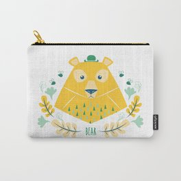 Scandi Bear Carry-All Pouch