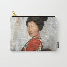 Geisha/Newspaper Serie Carry-All Pouch