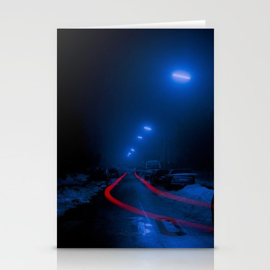 Nocturne Stationery Cards