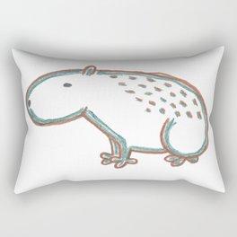 Capybara Rectangular Pillow