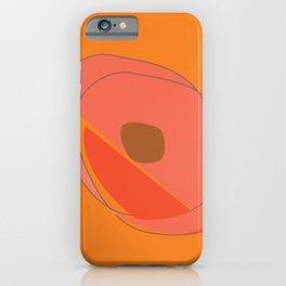 Abstract Avocado iPhone Case