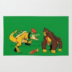Boss vs Kong Rug