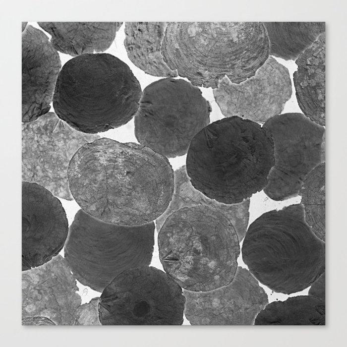 Abstract Gray Canvas Print