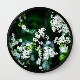 Spring in the Emerald City Wall Clock
