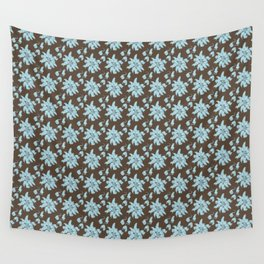 Ratking Flowers [Blue] Wall Tapestry