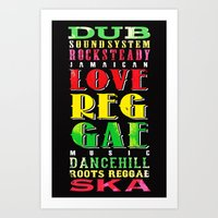 jamaica Art Prints featuring Jamaica. by Grant Pearce