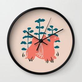 Mongolian Camel Wall Clock