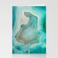 chris brown Stationery Cards featuring THE BEAUTY OF MINERALS 2 by Catspaws