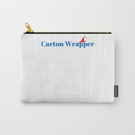 Top Carton Wrapper Carry-All Pouch