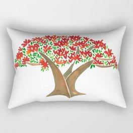 Flamboyant Tree Rectangular Pillow