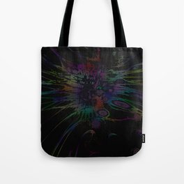 Coloring Spatter Tote Bag
