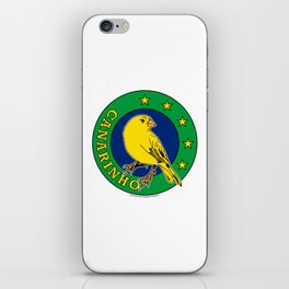 Brasil Canarinho (Little Canary) ~Group E~ iPhone Skin