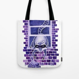 Randell the Crooked Raccoon! Tote Bag