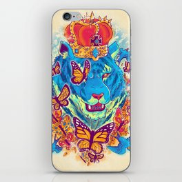 The Siberian Monarch iPhone Skin