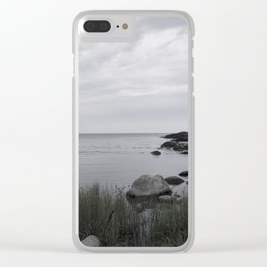 In the north Clear iPhone Case
