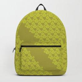 Green drops Backpack