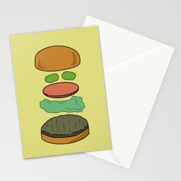 Deconstructed Burg Stationery Cards