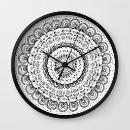 Mandala Love Wall Clock