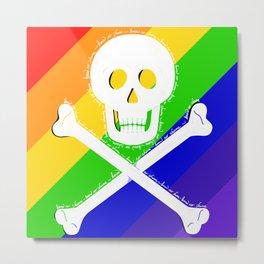 Know No Shame LGBT Metal Print