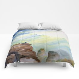 Wanderer Series: Above the Clouds Comforters