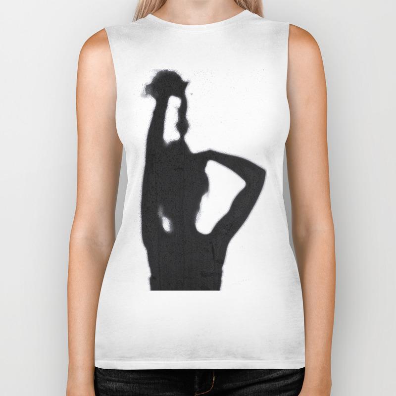 Shadow Hair Pulling Biker Tank by Ghostline_designs BKT8455695