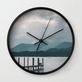 Derwentwater, Keswick, Lake District Wall Clock
