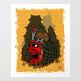 SAMURAI I Art Print