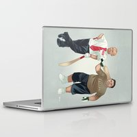 shaun of the dead Laptop & iPad Skins featuring Shaun of the Dead by Dave Collinson