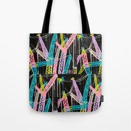 New York Cranes Tote Bag