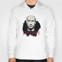 putin Hoodies featuring Putin by Artlotus