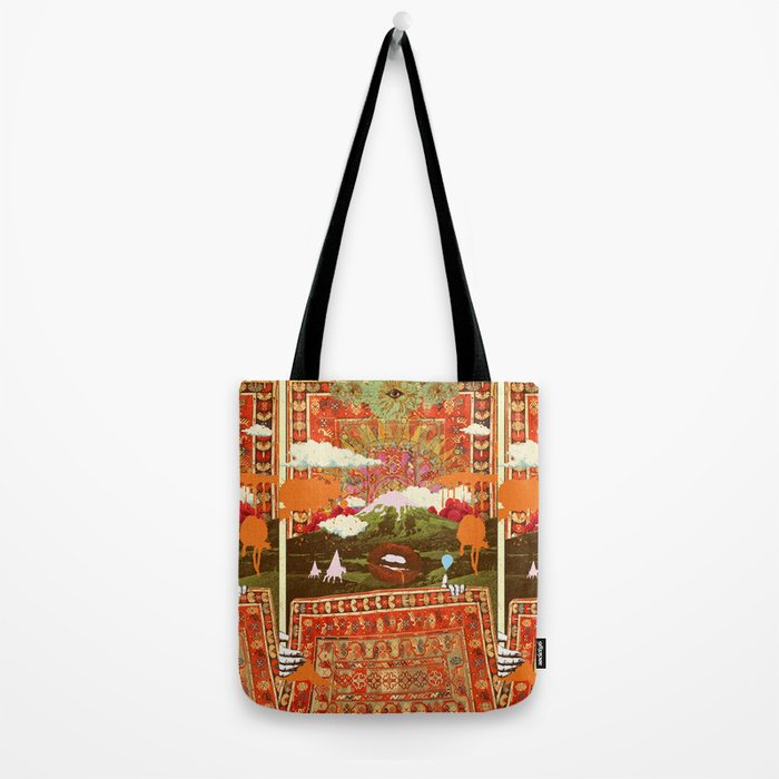 MORNING PSYCHEDELIA Tote Bag