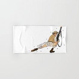 Jurassic Park Pin-Ups ~ Robert Muldoon Hand & Bath Towel